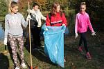 Žáci ze ZŠ náměstí 28. října v Žatci se připojili k celostátní dobrovolnické akci 72 hodin.