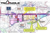 Průmyslová zóna Triangle.