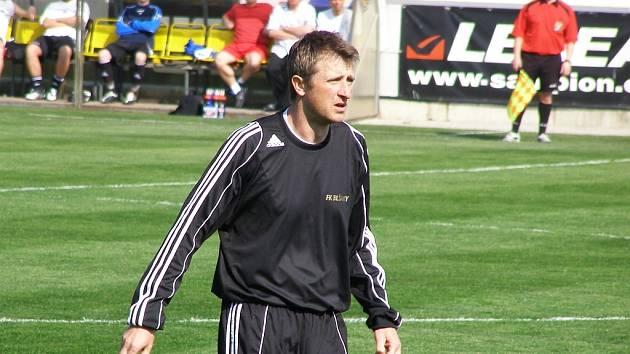 Vicemistr Evropy Michal Horňák v dresu Blšan.