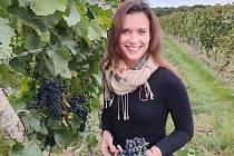 Vinařka Kateřina Mikulíková.