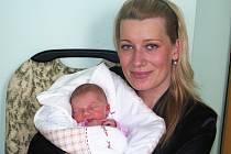 Mamince Anně Kloučkové ze Žatce se 11. března 2013 ve 22.28 hodin narodila dcera Adéla Kloučková. Vážila 3165 g a měřila 50 cm.