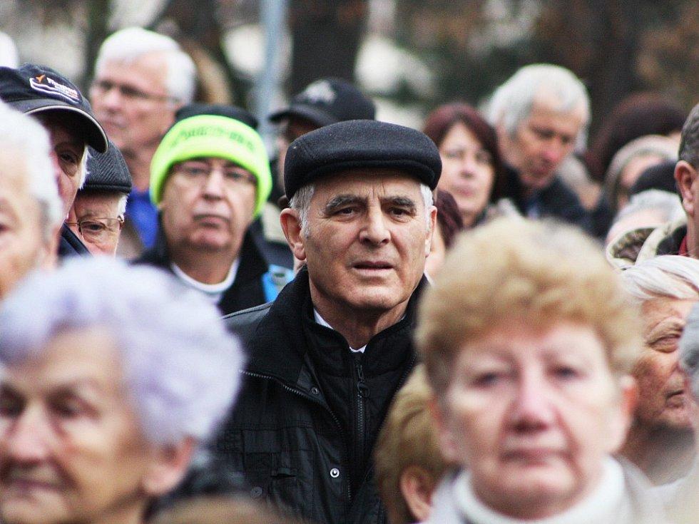 Návštěva prezidenta Miloše Zemana v Podbořanech