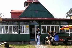 Ejemova chata na vrchu Stříbrník