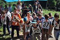 Děti z Lounska, Žatecka a Podbořanska na táboře v Opárenském údolí u Litoměřic