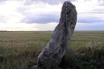 Menhir v Drahomyšli