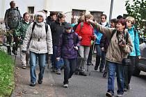 Podbořanští turisté jsou hodně aktivní. Například v říjnu připravili 24. ročník pochodu Podzimní putování, na vycházku vyrazily desítky lidí. Šlo se kolem vrchu Rubín až do Oplot.