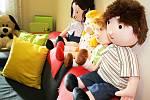Nová pohovorová místnost pro děti na žatecké radnici