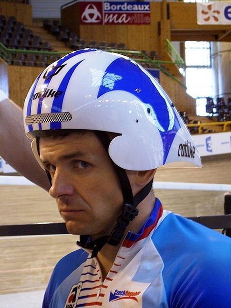 Cyklista Luboš Jirka
