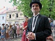 V Žatci natáčela v posledních letech například Česká televize drama z období II. světové války pod názvem Dívka a kouzelník. Hlavní role se ujal herec Ivan Trojan.