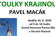 V Ročově bude o pouti výstava obrazů Pavla Macáka.