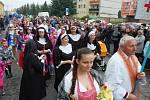 Prvomájové oslavy v Kryrech proběhly již tradičně v recesistickém duchu