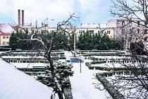 Klášterní zahrada v Žatci.