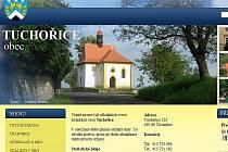 Webové stránky obce Tuchořice