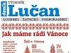 Nový Týdeník Lučan: Vánoce pod drobnohledem a hledání pokladů s detektorem