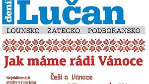 Týdeník Lučan z 11. prosince 2018