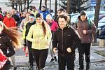 Milovníci pohybu se sešli během Štědrého dne při již tradičním Vánočním běhu v Lounech.