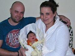 Nikole Antonové a Martinu Vacířovi z Bitozevsi se 5. ledna 2016 v 16.06 h narodila dcera Viktorie Vacířová. Váha 3355 g, míra 48 cm.