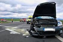 Vážná dopravní nehoda u obce Lažany