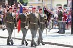 Žatec slavil, vojáci si připomněli výročí