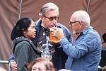 Lounské Vábení 2019. Jediný, kdo mohl prodávat pivo byl jeden ze sponzorů akce, společnost Heineken