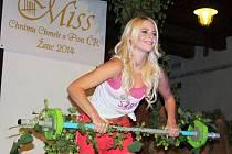Finálový večer Miss Chrámu chmele a piva v Žatci