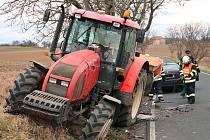 Dopravní nehoda u Břvan