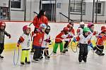 Nábor malých hokejistů v Lounech