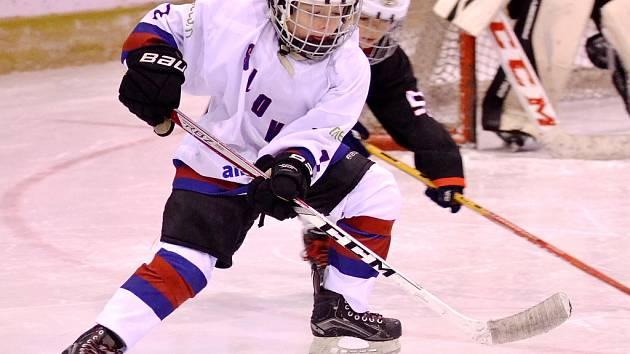 Malí hokejisté Loun, ilustrační foto.