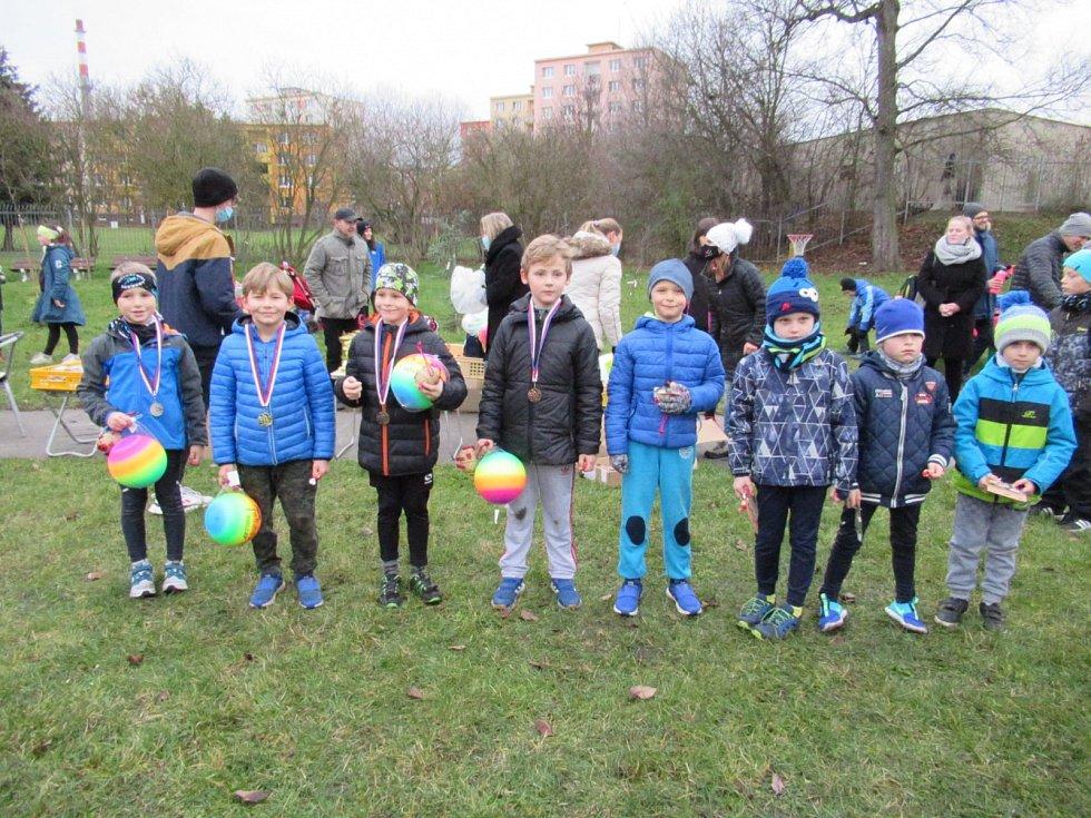 Závěrečné kolo Lounského běžeckého poháru  - mládež