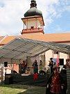 Novohradská pouť na zámku v Jimlíně