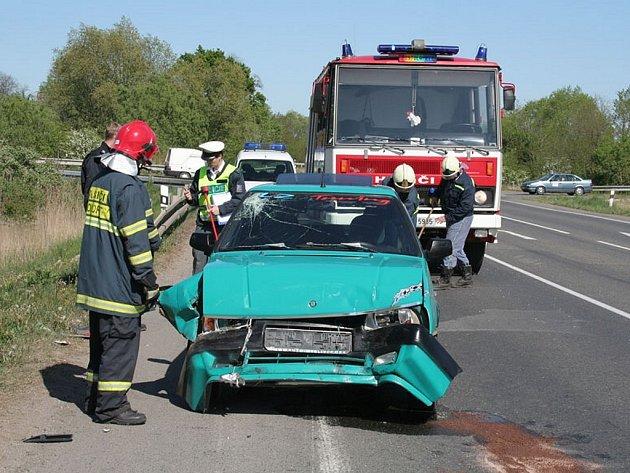 Nehoda u Postoloprt.
