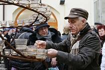 Pietní vzpomínka na Václava Havla v Lounech