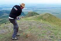 Mistrovství republiky v extrémním golfu na vrchu Raná u Loun