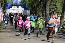 Lidový běh po lounském výstavišti