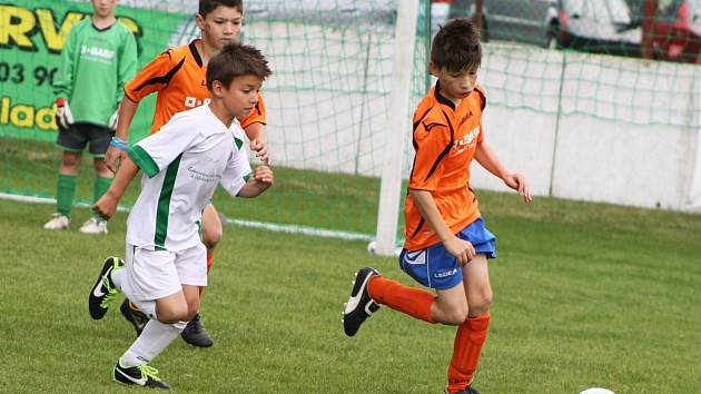 Fotbalový turnaj žákovských přípravek v Dobroměřicích