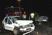 Středeční nehoda v Lišanech.