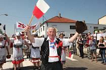 Májové oslavy v Kryrech, 2012.