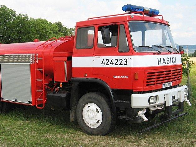 Nová chlouba Sboru dobrovolných hasičů Slavětín