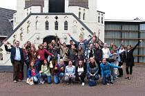 Studenti lounského gymnázia při pobytu v Nizozemí