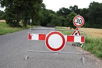 Na silnici mezi Lišany a Postoloprty se pracuje, řidiči musí úsek objíždět.