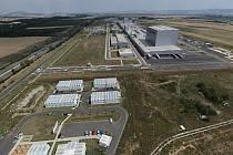 """Společnost For H2Energy plánuje koupi dvanáctihektarového pozemku označeného v mapce písmenkem """"B""""."""