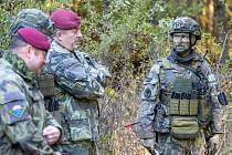 Armádní cvičení na Doupově.