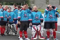 Lounští hokejbalisté v Krupce