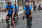 Dvanáct cyklistů z Loun, německého Zschopau a holandského Barendrechtu se vydalo na letošní Cycletour.