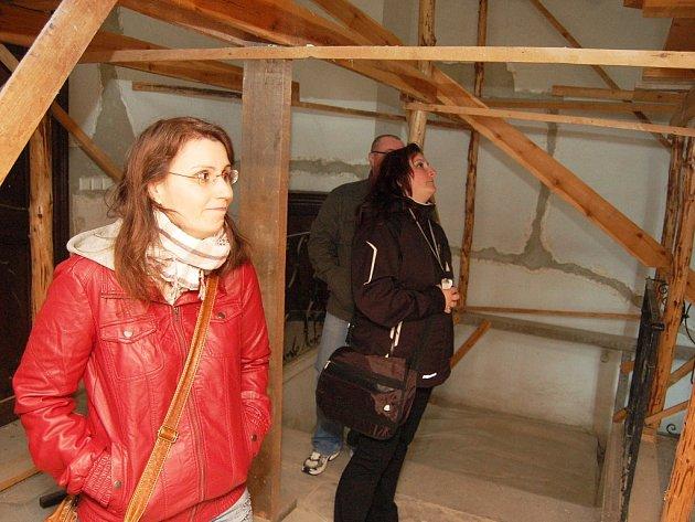 Zámek ve Stekníku byl mimořádně otevřený