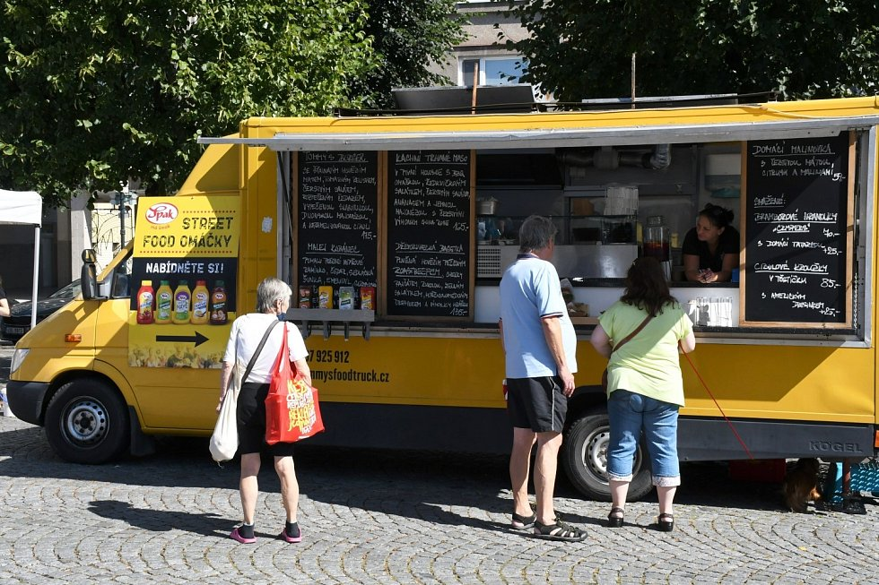 První Lounský food festival.