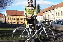Tři měsíce po těžkém zranění usedla Lucie Záleská v Blšanech opět na kolo.