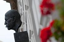 Busta T. G. Masaryka. Ilustrační foto