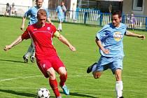 Utkání Postoloprt (v červeném) proti Oseku