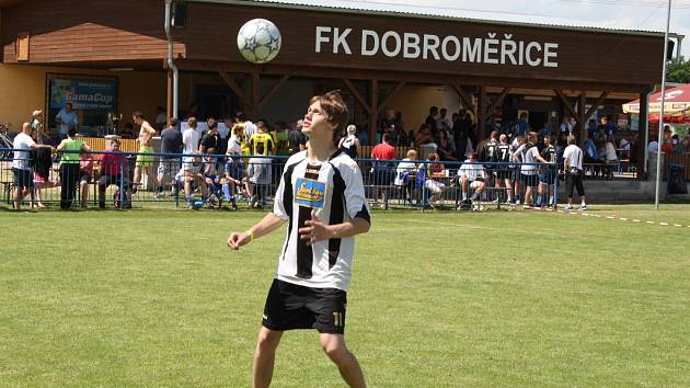 Fotbalový turnaj Gama cup v Dobroměřicích